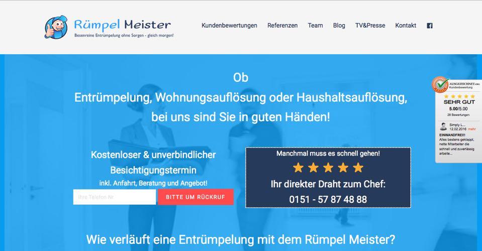 Relaunch Rümpel Meister
