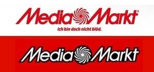 Vergleich Logo neu vs. alt Media Markt
