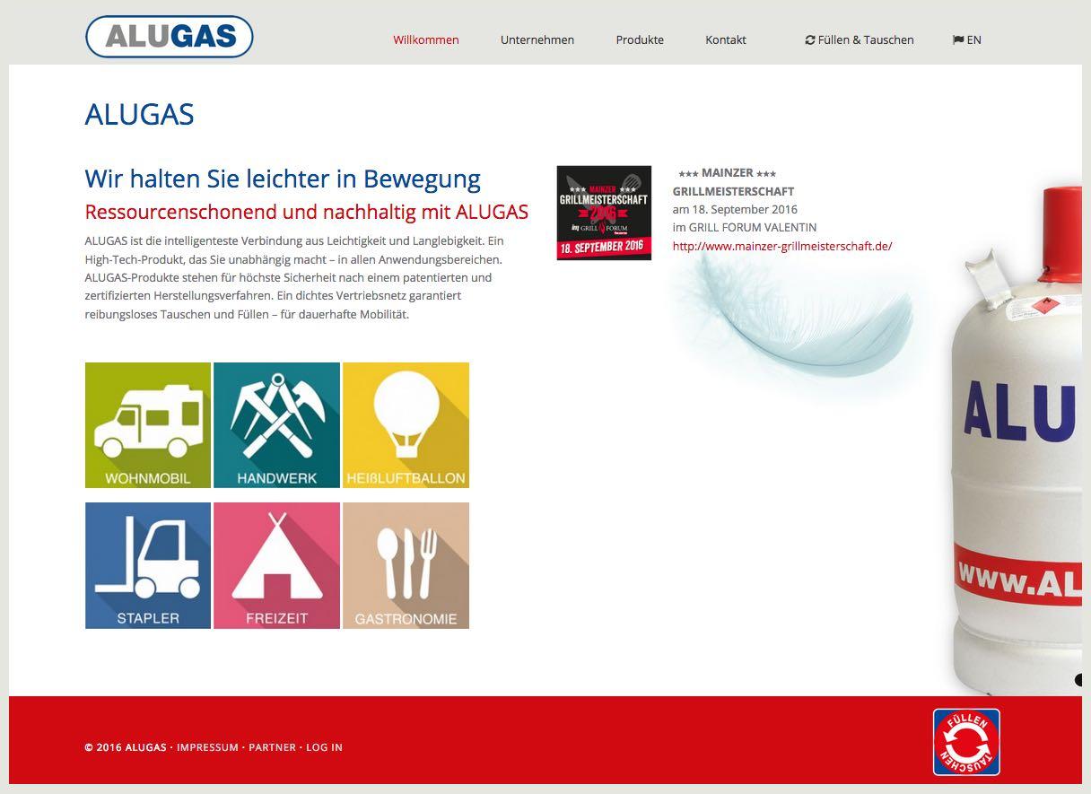 ALUGAS - Gasprodukte aus Sobernheim